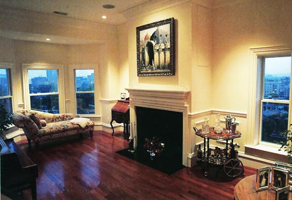 Kyle Restoration Boston Townhouse Livingroom